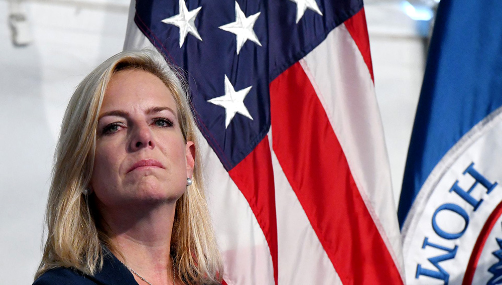 Homeland Security Secretary Kirstjen Nielsen. Photo: Olivier Douliery, Pool/Getty Images