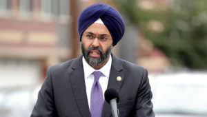 (Julio Cortez/AP) New Jersey Attorney General Gurbir Grewal speaks during a news conference in Newark, N.J., Aug. 1, 2018.