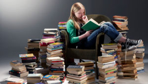 The Biblioracle doesn't think competition, even against himself, is good for a reading life. (Phil Ashley / Getty)
