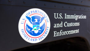 United States Department of Homeland Security logo — Stock Photo