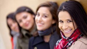 group-hispanic-women-latinoamerican-latin-cheerful-happy