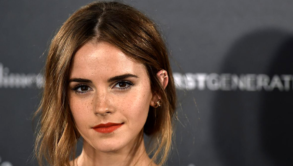 Emma Watson, UN Goodwill Ambassador and book club founder. Photo by GERARD JULIEN/AFP/Getty Images