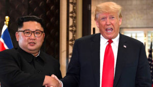 donald-trump-kim-jong-un-summit / Saul Loeb/AFP/Getty Images