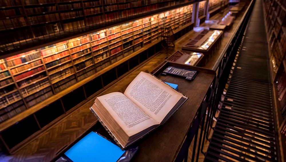 Una biblioteca de París. LIONEL BONAVENTURE/AFP/GETTY IMAGES