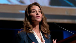 Melinda Gates speaks during a luncheon during the 2010 Women Deliver Conference at The Walter E. Washington Convention Center. Kris Connor   Getty Images Entertainment   Getty Images
