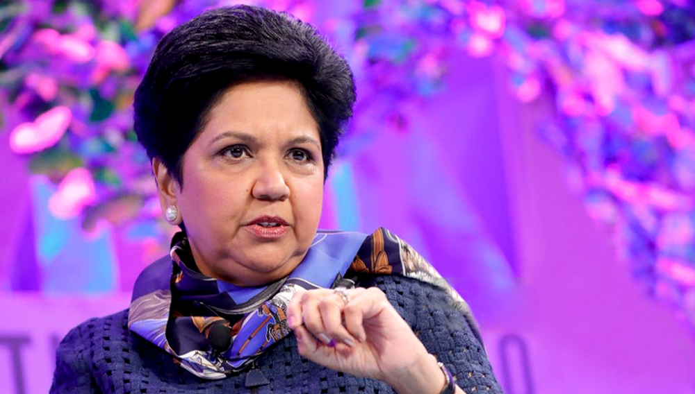 Pepsi Chairman and CEO Indra Nooyi speaks onstage at the Fortune Most Powerful Women Summit - Day 2 on October 10, 2017 in Washington, DC. Photo: gettyimages