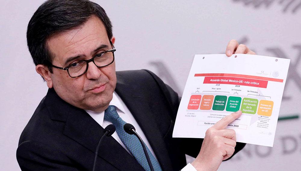 El secretario de Economía mexicano, Ildefonso Guajardo, este martes. H. ROMERO REUTERS