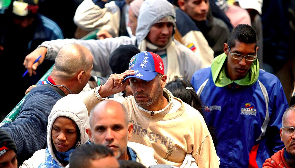 Venezolanos emigrando a Ecuador. Foto: STRINGER (Reuters)