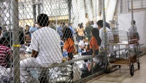 The center in McAllen, Texas. Photo: RGV-FCB/Center for Border Protection