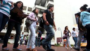 Estudiantes de una universidad privada. Foto: Agencia Andina