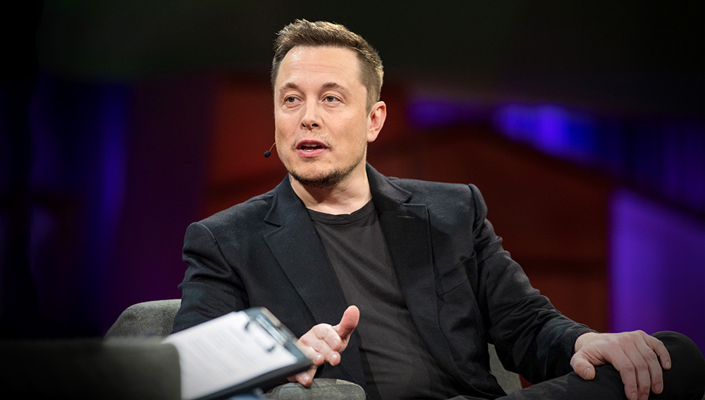 Elon Musk speaks at TED2017 - The Future You, April 24-28, 2017, Vancouver, BC, Canada. Photo: Marla Aufmuth / TED