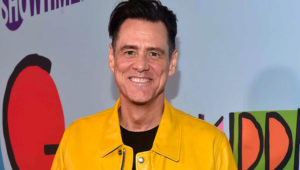 LOS ANGELES, CA - SEPTEMBER 05: Jim Carrey attends the premiere of Showtime's 'Kidding' at The Cinerama Dome on September 5, 2018 in Los Angeles, California. (Photo by Alberto E. Rodriguez/Getty Images)