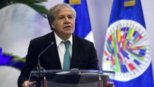 El secretario general de la OEA, Luis Almagro. | EFE