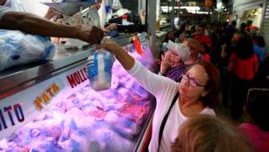 Recorrido mercado de Guaicaipuro. Foto: Sumarium.es