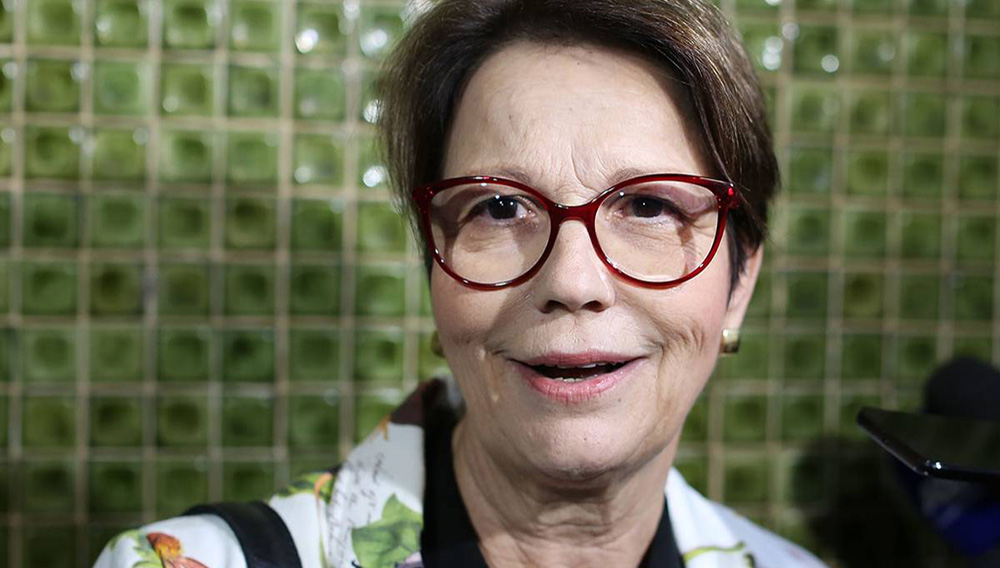 La líder de la bancada ruralista Tereza Cristina da Costa será la ministra de Agricultura de Bolsonaro.