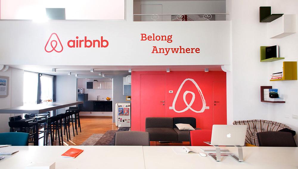 Oficina de Airbnb. Foto: Internet.