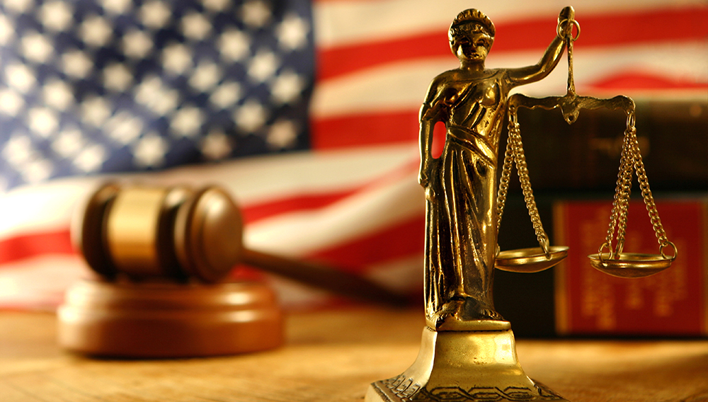 Scales of Justice - Stock image