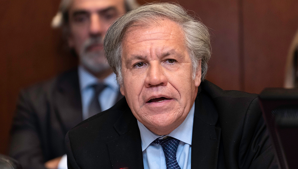 Fifty-third Special Session of the General Assembly, October 30, 2018. Luis Almagro, OAS Secretary General.