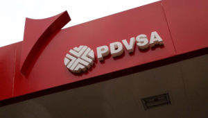 Vista parcial de una estación de PDVSA en Venezuela.