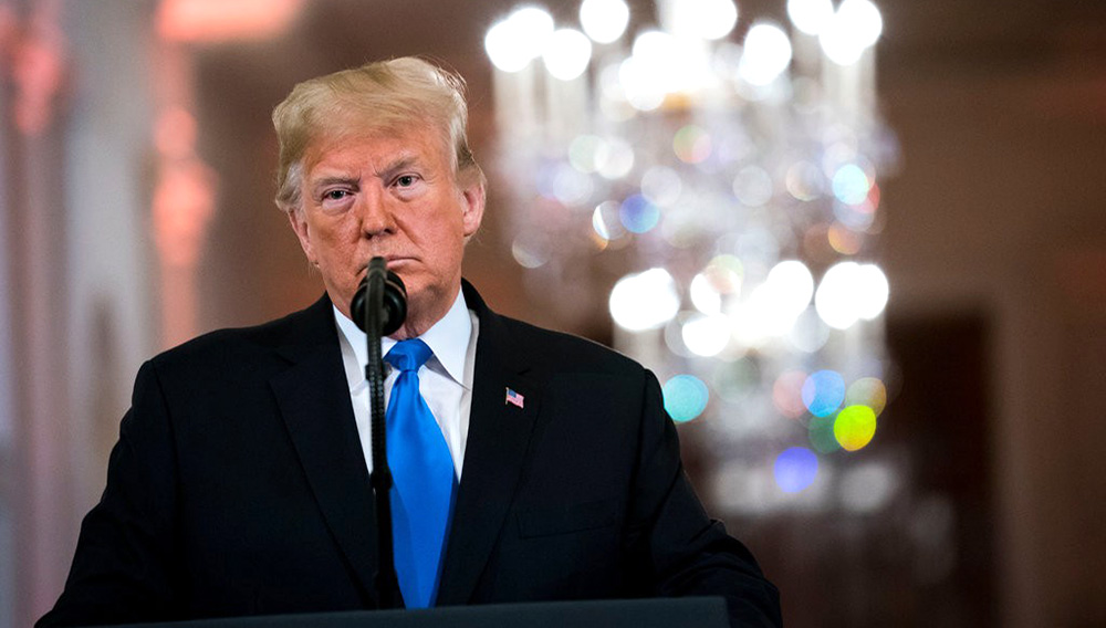 President Trump at a news conference in November.CreditCreditDoug Mills/The New York Times