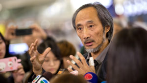 Chinese dissident author Ma Jian in Hong Kong events cancelled