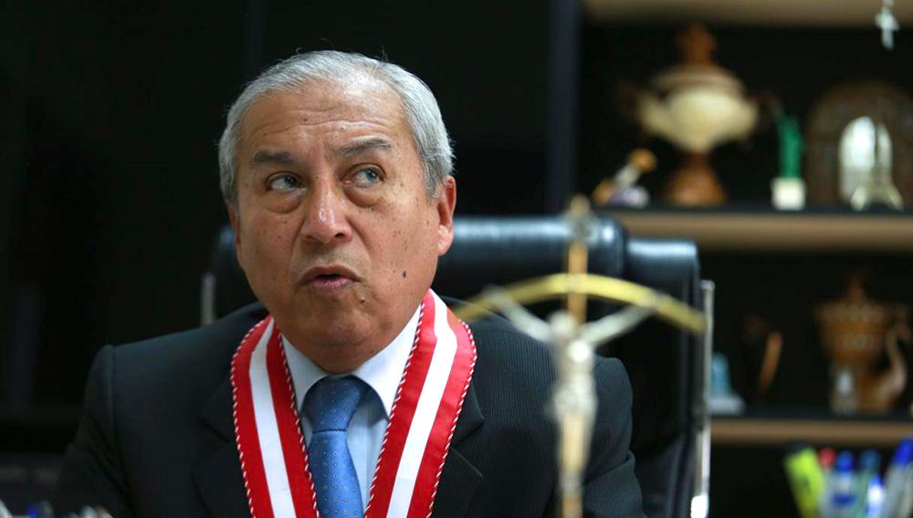 Pedro Chávarry, fiscal de la Nación. Foto: El Comercio