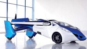 Flying car. Toyota Motor Corporation