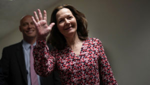 Gina Haspel meets with lawmakers in Washington on Monday. Photo: Alex Wong/Getty Images