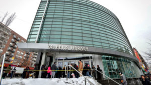 The Queens Library system, which serves more than 11 million customers a year, is rejiggering its hours starting Jan. 5, 2015. (Anthony DelMundo/New York Daily News)