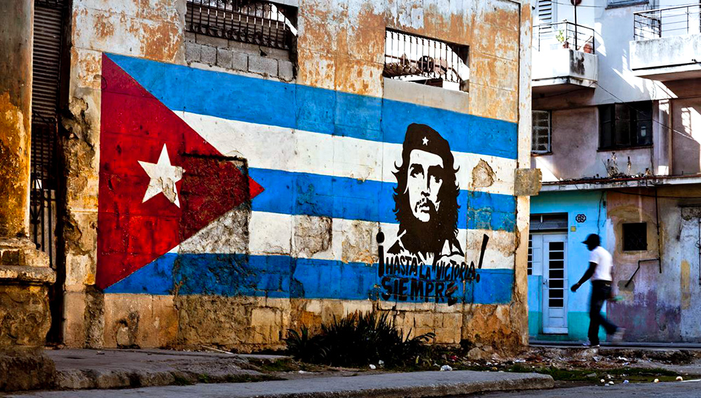 Wall painting in Cuba. | Merten Snijders, Getty Images