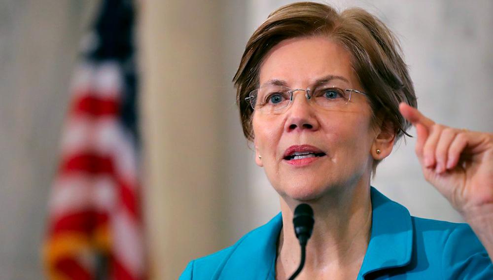 Sen. Elizabeth Warren (D-MA) Chip Somodevilla/Getty Images