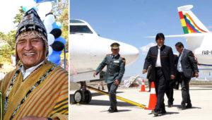 Evo Morales gastó USD 38 millones en el avión Falcon 900 EX EASY, fabricado originalmente para el plantel del Manchester United. Foto: Infobae