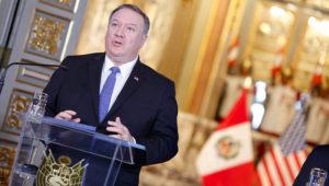 Presidente Vizcarra recibió en Palacio de Gobierno a Secretario de Estado de EE.UU.