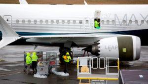 Un Boeing 737 MAX 9, en la sede de la compañía aeroespacial, en Renton, noroeste de EEUU, el 12 de marzo de 2019. AFP/Archivos / Jason Redmond