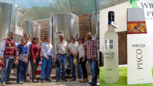 Arequipa: MINAGRI inaugura moderna planta de producción de pisco para impulsar la exportación: Foto: AGROIDEAS-MINAGRI