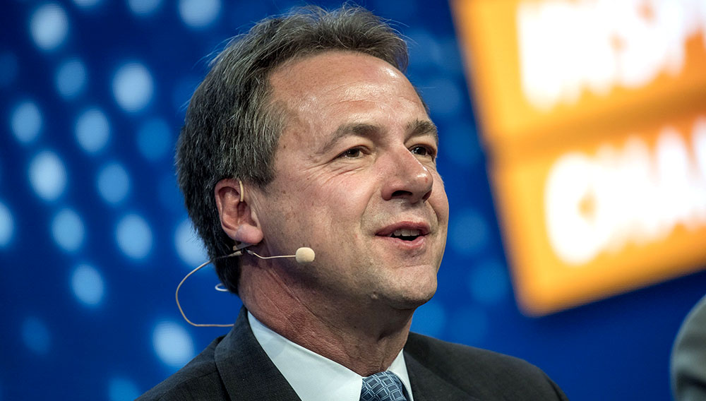 Steve Bullock, Governor of Montana, speaks at the Milken Institute Global Conference in Beverly Hills, California, U.S., on Monday, May 1, 2017. David Paul Morris | Bloomberg | Getty Images