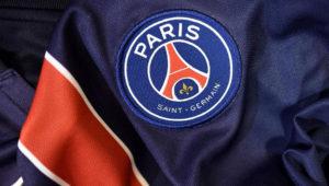 Une détail du maillot du Paris Saint-Germain. Franck Fife/AFP/Getty Images