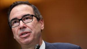 El secretario del Tesoro de Estados Unidos, Steven Mnuchin. (Photo by Chip Somodevilla/Getty Images)