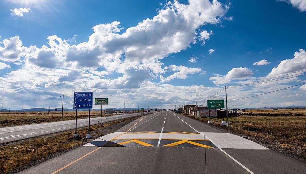 El MTC abre tramo de 19 kilómetros en segunda calzada de autopista Puno-Juliaca. | Foto: MTC Perú (Flickr)