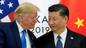 Presidentes de Estados Unidos y China, Donald Trump y Xi Jinping.   Foto: Reuters/ Kevin Lamarque