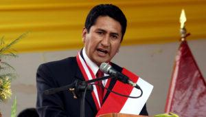 Presidente regional de Junín, Vladimir Cerrón. | Foto: Andina