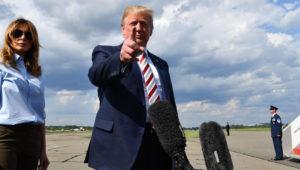 Trump ha sido cuestionado por su retórica antiimigrante. | Foto: Nicholas Kamm/Getty Images