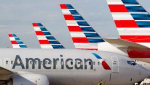 Aeronaves de American Airlines, la primera compañía aérea de Estados Unidos por número de pasajeros. Foto: Internet.