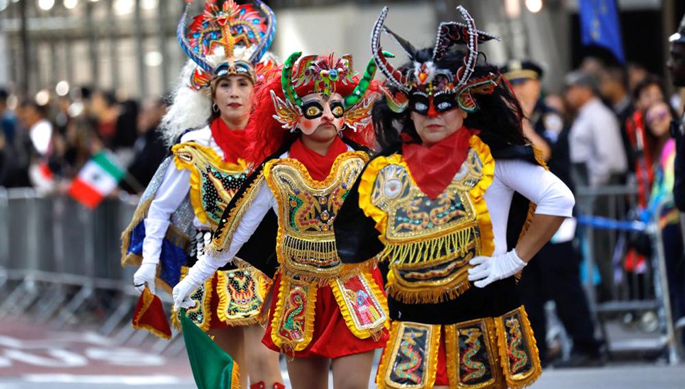 Los hispanos festejan en Nueva York su cultura común y su diversidad. | Agencia EFE