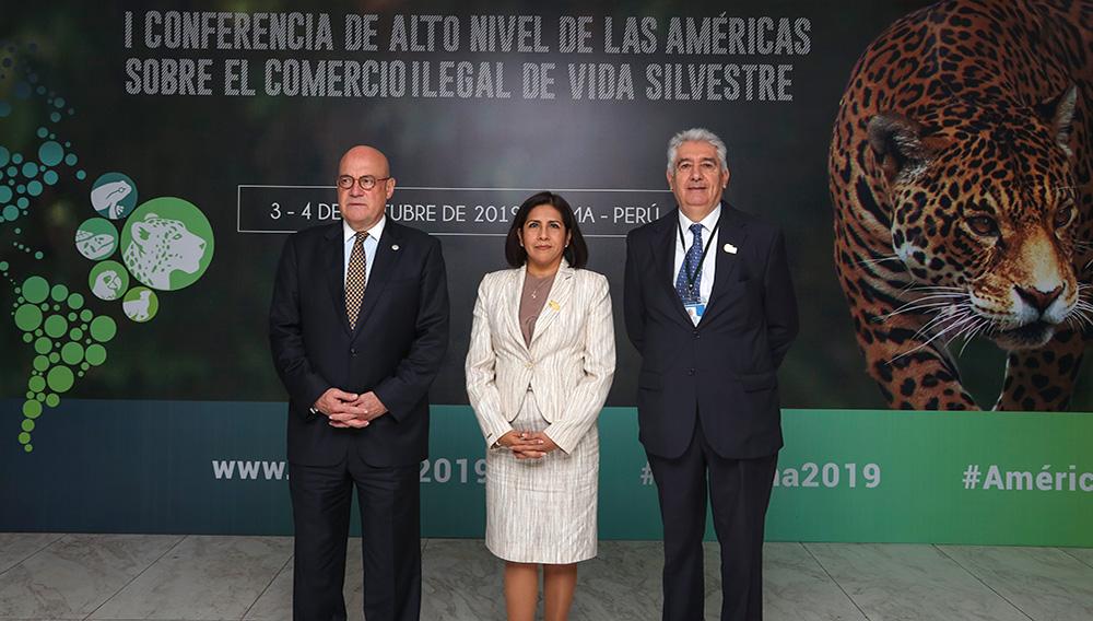 Perú propone a los países de las Américas enfrentar juntos el comercio ilegal de vida silvestre.   Foto: Minagri Perú (Flickr)