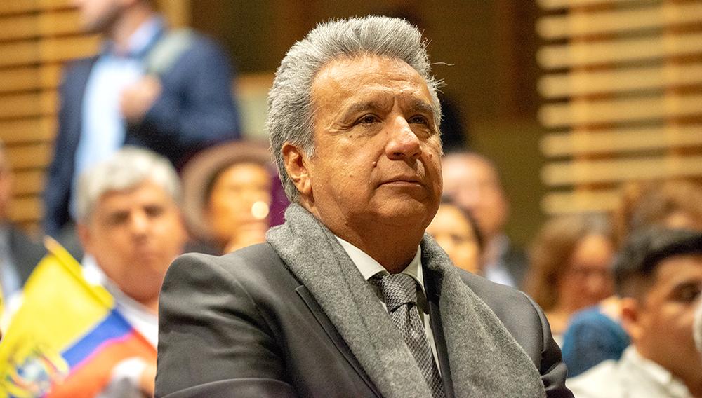 Presidente de Ecuador, Lenín Moreno. | Foto: Jehovagni D. Santana