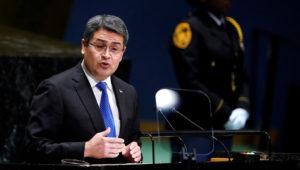Presidente de Honduras, Juan Orlando Hernández. / REUTERS