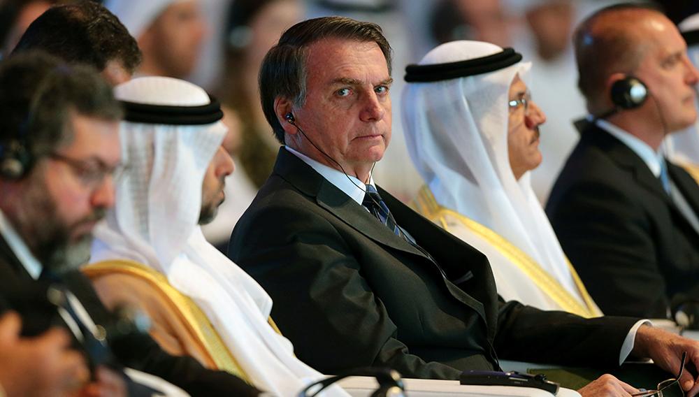 """Bolsonaro en el """"Davos del desierto"""" (Reuters)"""