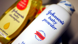 Johnson & Johnson's products are seen December 16, 2004 in New York. Chris Hondros—Getty Images