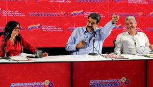 Maduro aseguró que el modelo capitalista y la desigualdad generada por medidas impuestas por el FMI son los verdaderos detonantes de las protestas. | Foto: AVN